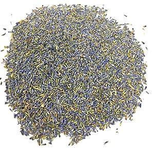 Organic Culinary Lavender Flowers - Beautiful Dried Premium French Lavandula Angustifolia   Premium Grade - Net weight: 0.7oz   Perfect for Tea, Lemonade, Baking, Baths. Resealable Bag. Gluten-Free, Non-GMO