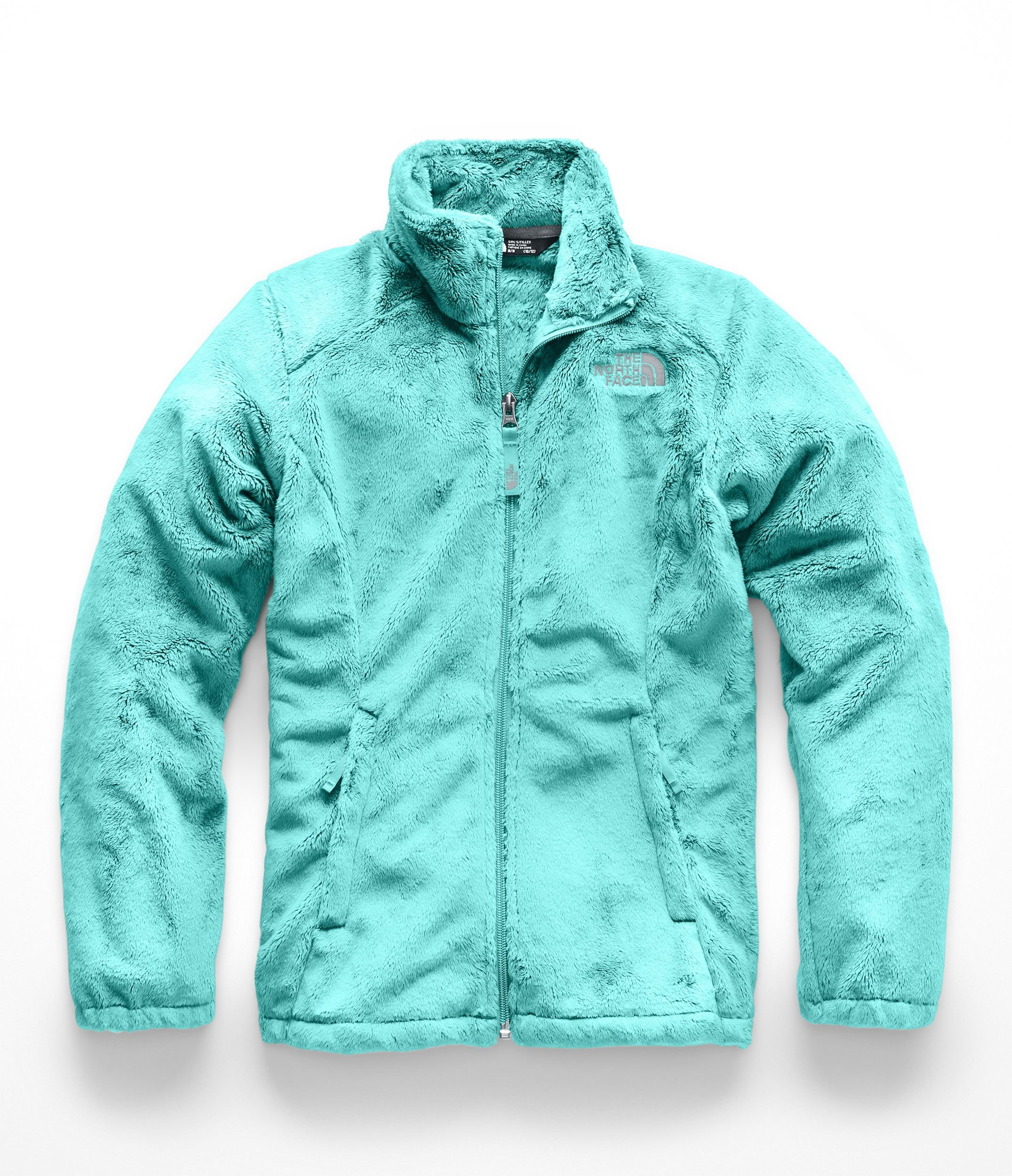 The North Face Kids Girl's Osolita Jacket (Little Kids/Big Kids) Mint Blue Small
