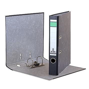 10 x archivador (DIN A4, lomo de 50 mm Wolke mármol archivadores Blauer Engel: Amazon.es: Oficina y papelería