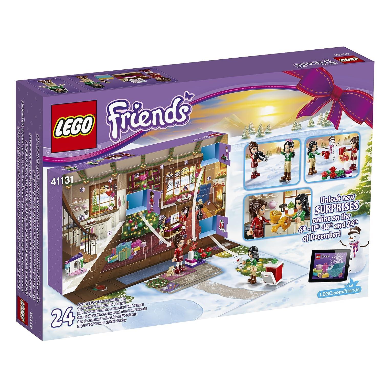 Calendrier Lego Friends 2019.Lego 41131 Friends Jeu De Construction Le Calendrier De L Avent