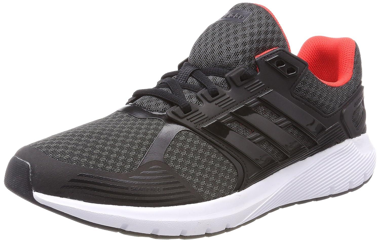 Adidas Duramo 8 M, Zapatillas de Running para Hombre 42 2/3 EU|Negro (Carbon/Core Black/Hires Red 0)