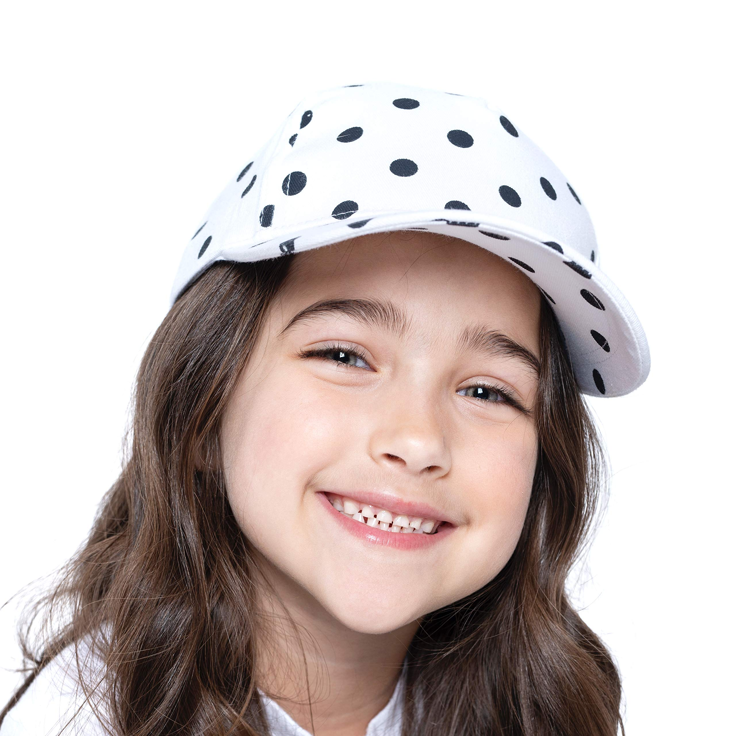 accsa Toddler Kids Girl Baseball Cap Trucker Hat UPF Sun Protection 2 Pack Age 2-5Y by accsa (Image #2)