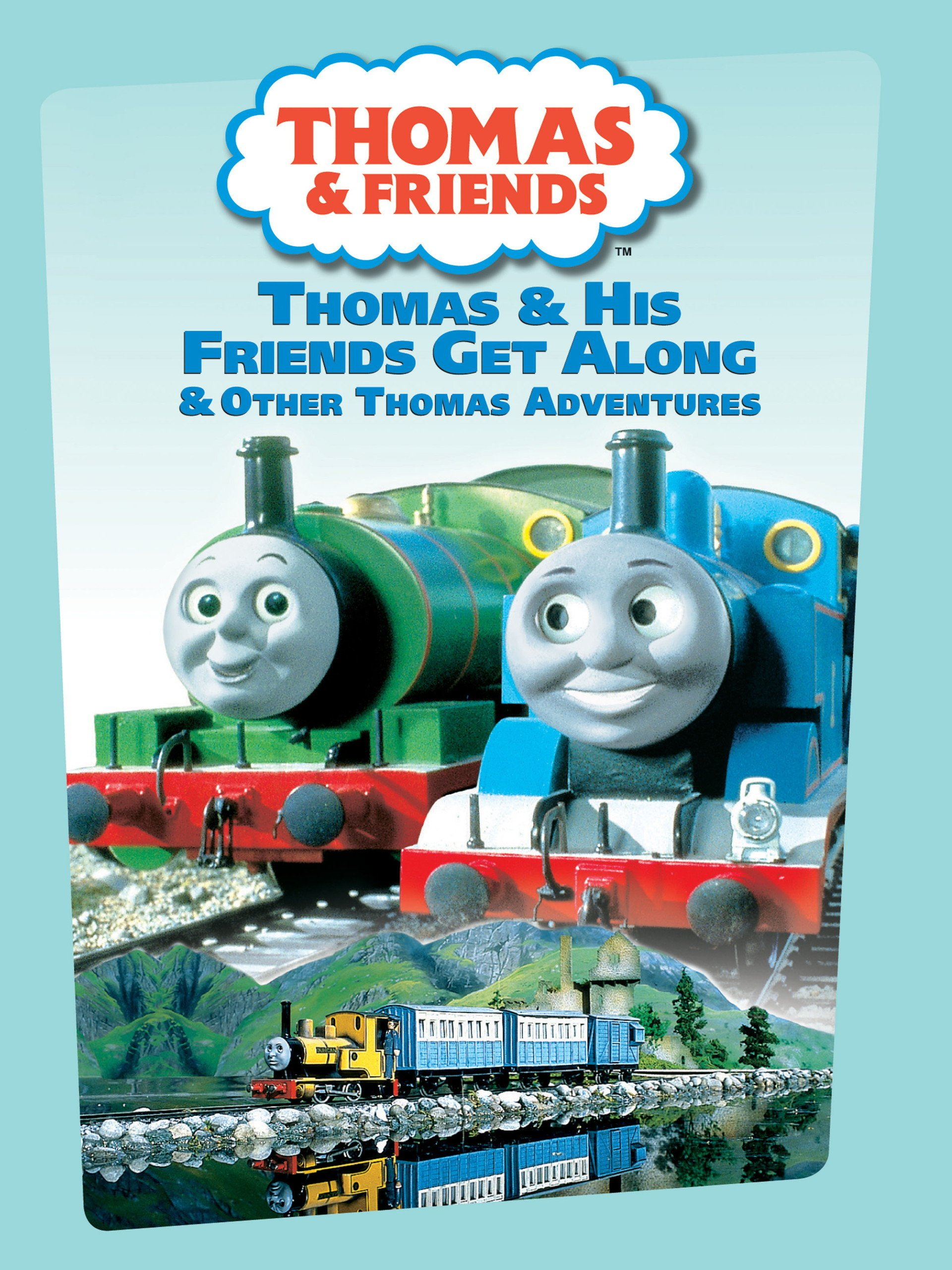Amazon.com: Thomas and Friends: Thomas and His Friends Get Along ...