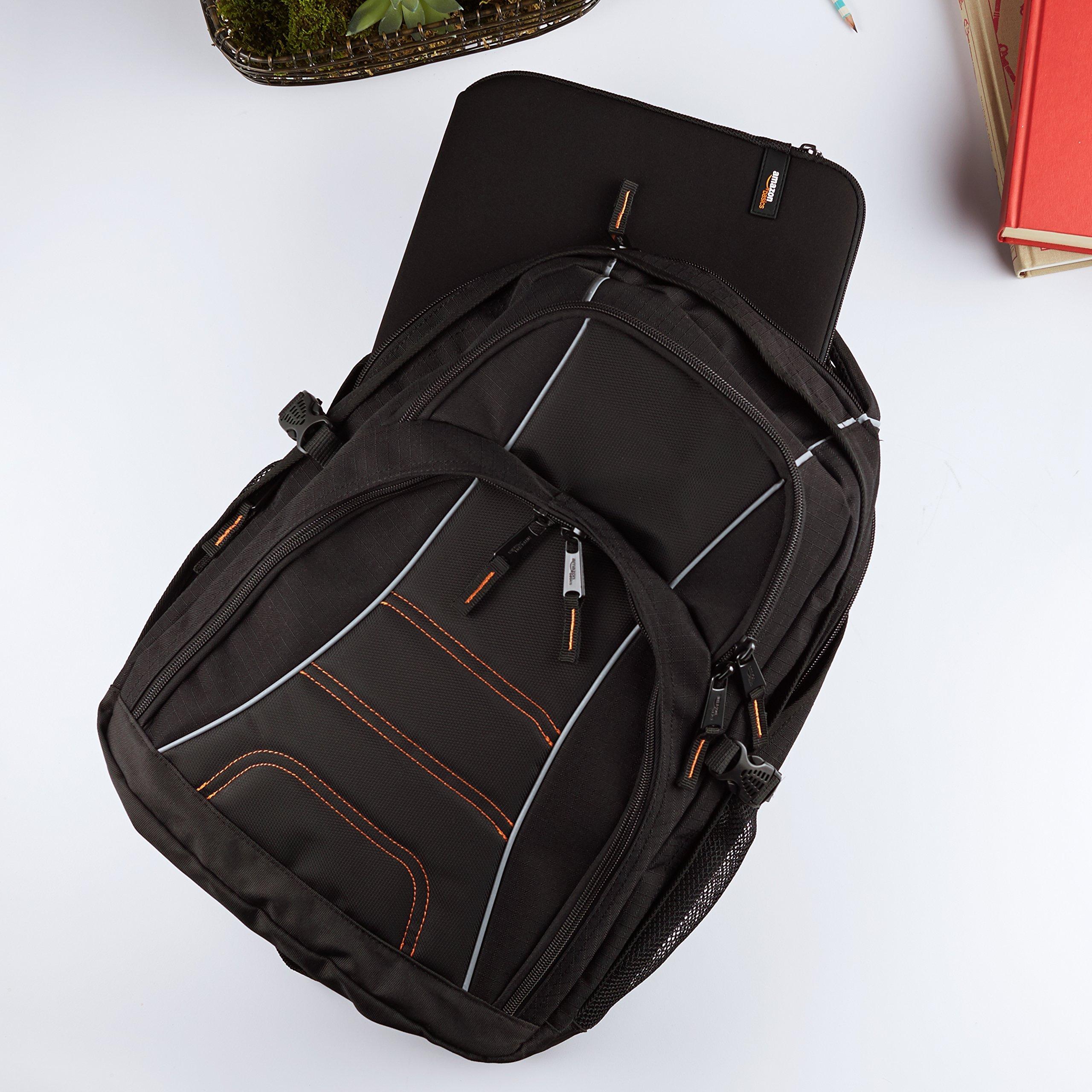 AmazonBasics Backpack for Laptops up to 17-inches by AmazonBasics (Image #2)