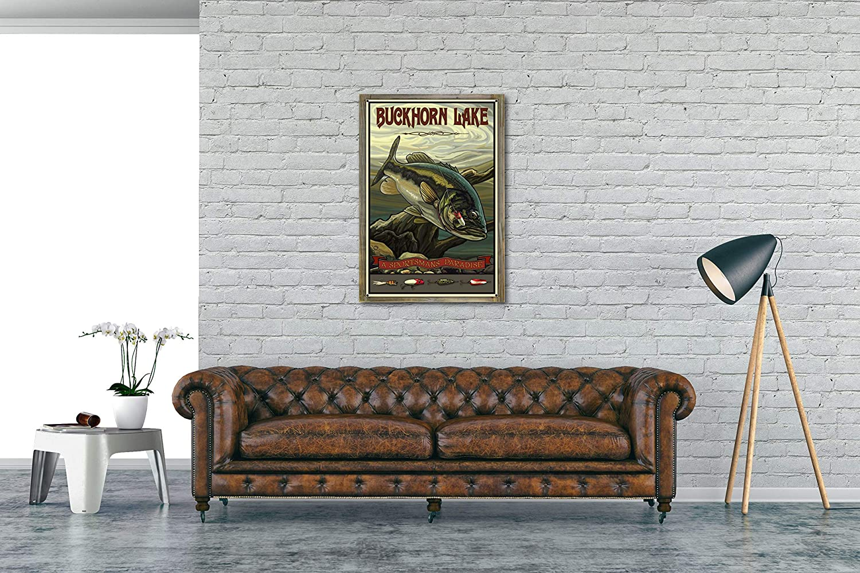 Amazon.com: Northwest Art Mall Buckhorn West Virginia Lake ...