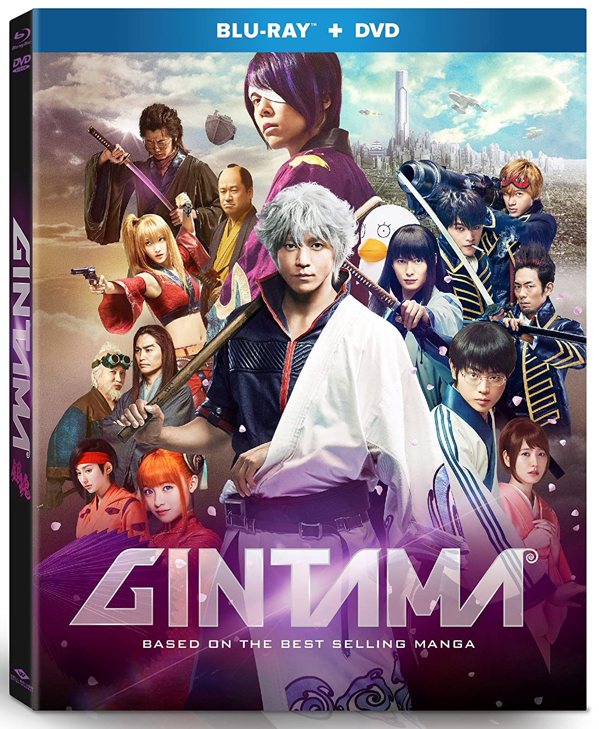 Gintama: Live Action Movie Blu-ray/DVD (Sub Only)
