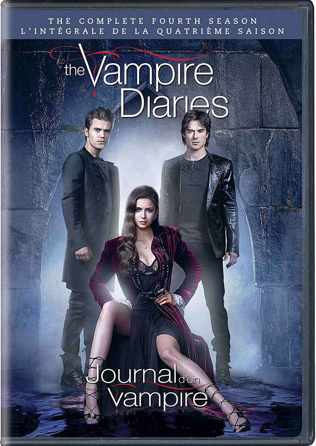 The Vampire Diaries: The Complete Fourth Season (Bilingual) L.J. Smith Nina Dobrev Paul Wesley Ian Somerhalder