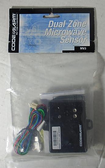 Amazon.com: Código Alarma MV3/zona de MV3/MV3 Dual Sensor de ...