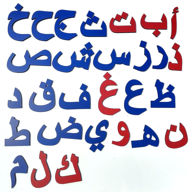 Buy Cryo Craft Wooden Magnetic Arabic/Urdu Alphabets/Letters Online ...