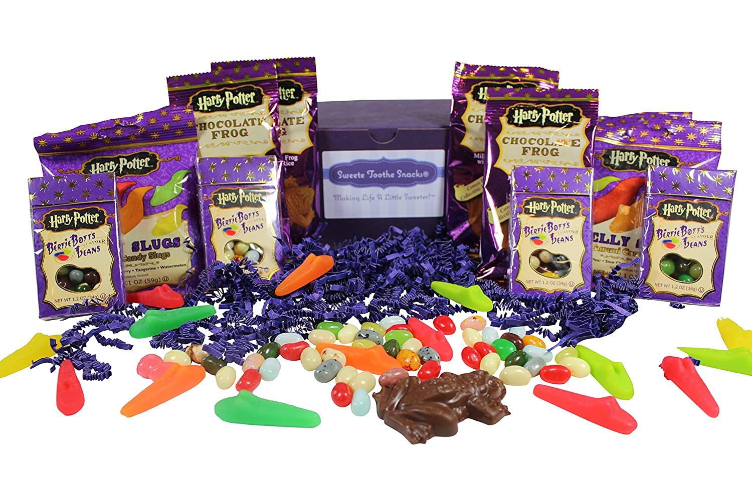 Amazon.com : Harry Potter Candy Gift Box with Chocolate Frogs ...