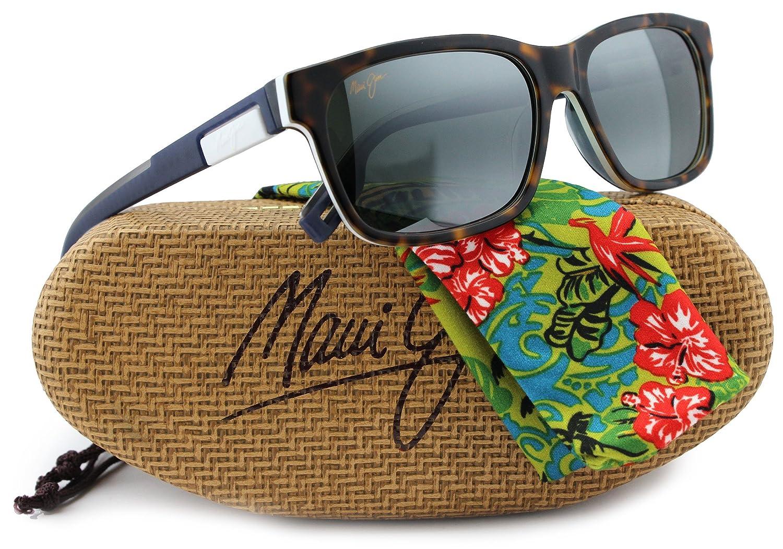 4a6270e030 Maui Jim MJ284-57 Eh Brah Sunglasses Havana w/Neutral Grey 284-57 55mm  Authentic: Amazon.co.uk: Clothing