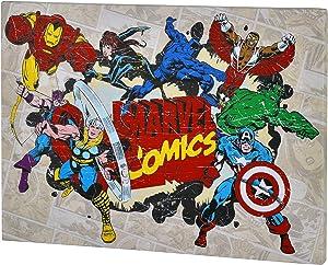Edge home Products V2K3MV1 Marvel Retro 10x13.5 Canvas Wall Art