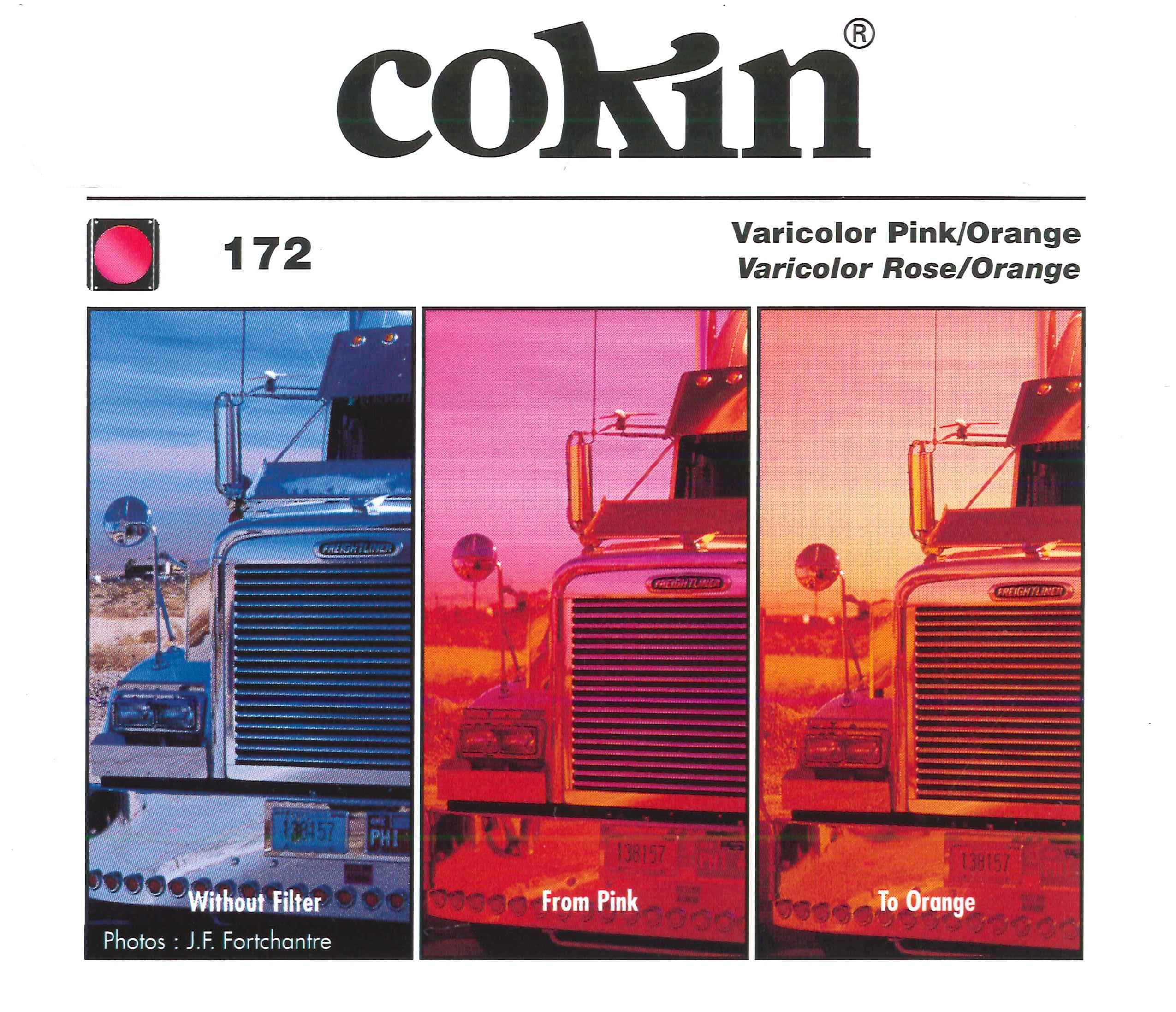 Cokin P172 Varicolor Filter with Protective Case (Pink/Orange) by Cokin