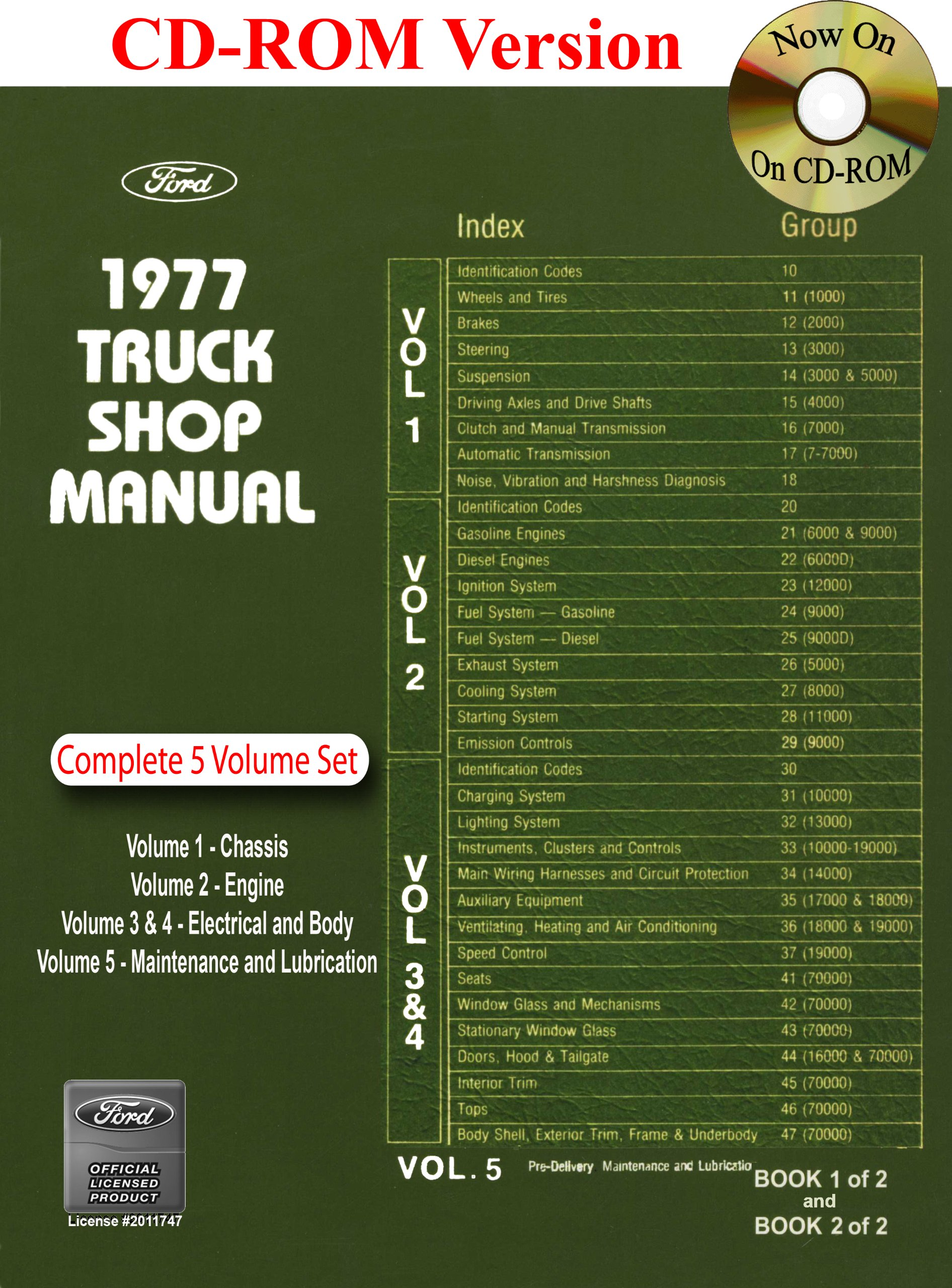 1977 Ford Truck Shop Manual Motor Company David E Leblanc Also Wiring Diagrams On Best Diagram For 9781603710855 Books