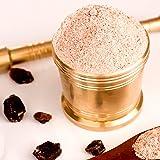 The Spice Lab Indian Kala Namak Mineral Salt Fine - 6 Ounce - Himalayan Black Salt - Vegan Kala Namak Salt Pure and Natural I