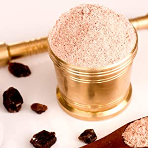 The Spice Lab Kala Namak Mineral Salt - Indian Himalayan Black Salt - 6 Ounce - Vegan Kala Namak Salt Pure and Natural Indian Black Salt Gluten Free - Vegan Tofu Scrambles - Natural Egg Taste