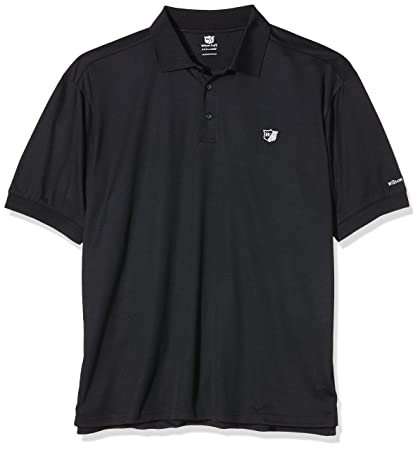 Wilson Polo Mens Authentic Polo S Rouge PHfh8