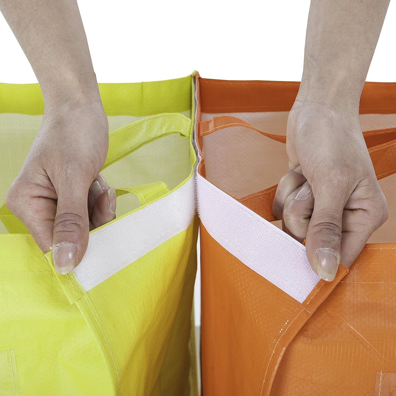 45 x 35 x 4 cm Multicolore Hailo 0535-109 Sac Nylon