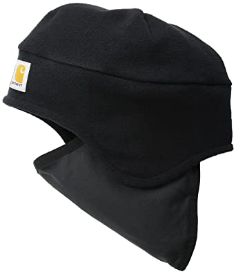 7a62fb60e21 Carhartt Men s Fleece 2 In 1 Hat at Amazon Men s Clothing store  Cold  Weather Hats