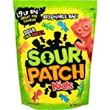 Sour Patch Kids Sweet and Sour Gummy Candy (Original, 1.9 Pound Bag)
