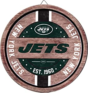 FOCO NFL Team Logo Wooden Barrel Sign