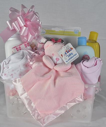 Cesta de regalo para recién nacido: Amazon.es: Bebé