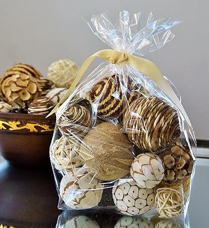Amazon Manu Home Natural Vase Filler Bag Beautiful Round
