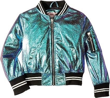 ca534d63e Urban Republic Kids Girl's Metallic Foil Bomber Jacket (Little Kids/Big  Kids)