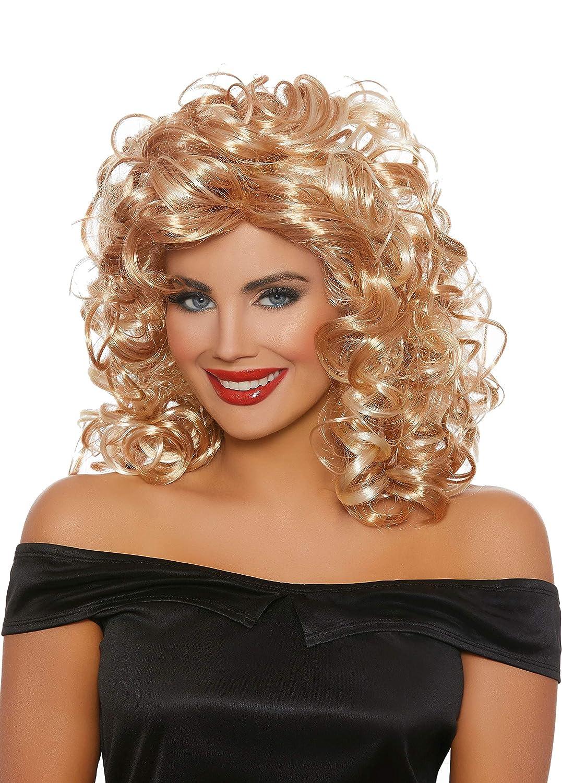 Dreamgirl Womens 50/'S Sandy Blonde Wig