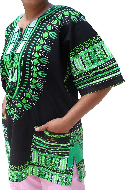 Raan Pah Muang SHIRT レディース ブラックグリーン XXXXXX-Large XXXXXX-Largeブラックグリーン B0778GKVHB