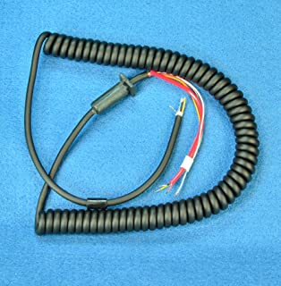 Amazon.com: Coiled Cable with 3 conductors, extends to 5ft ...