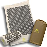 Acupressure Mat Large with Extra Acupuncture Points for More Effective Body Coverage Accupressure for Neck and Back Pain Reli