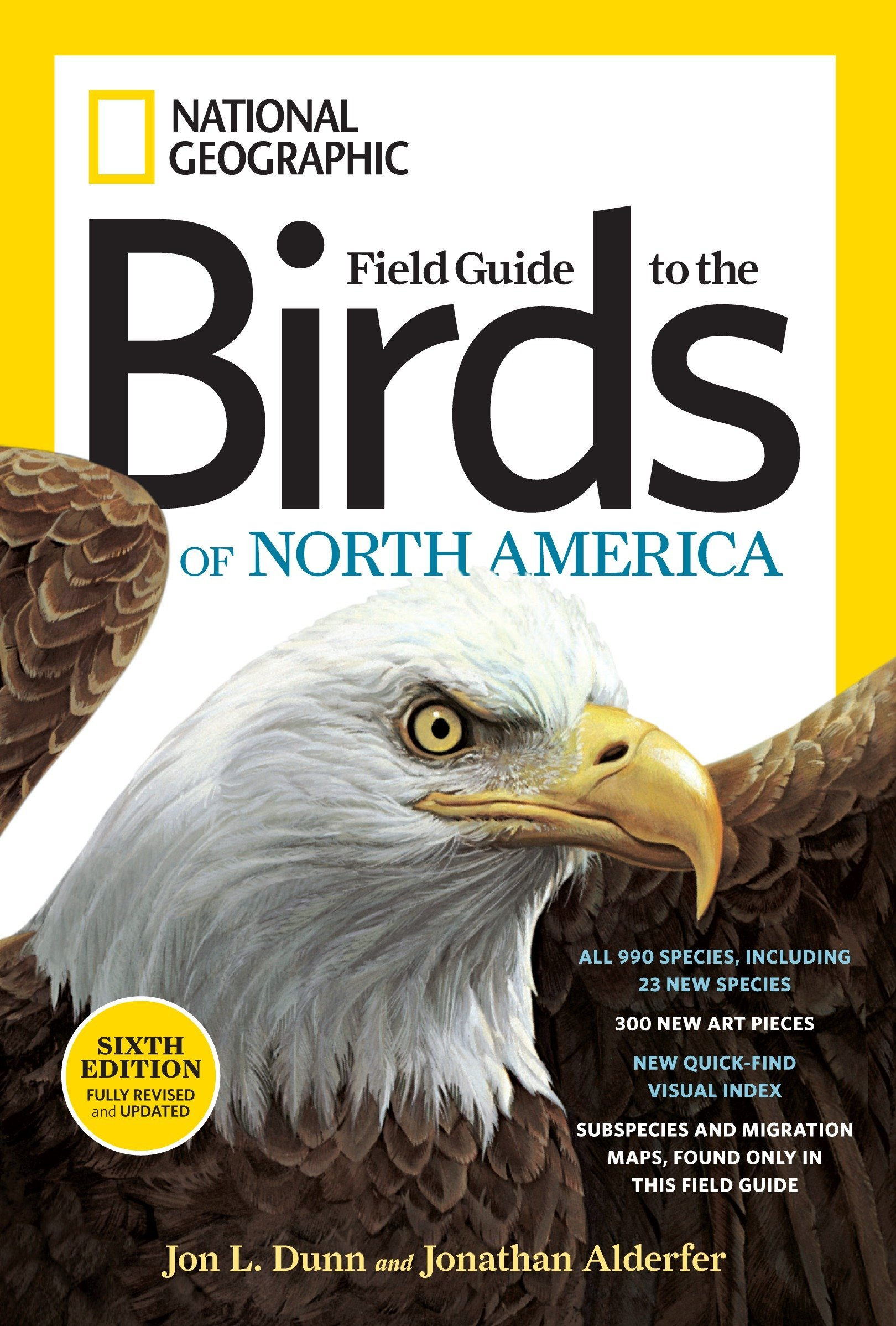 01811cc492 National Geographic Field Guide to the Birds of North America, Sixth  Edition (National Geographic Field Guide to Birds of North America)  Paperback ...
