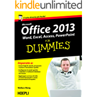 Office 2013 For Dummies: Word, Excel, Access, PowerPoint (Hoepli for Dummies)