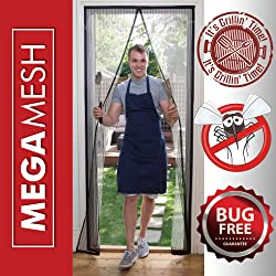 MegaMesh Magnetic Screen Door