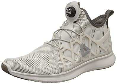 7947e45e196 Reebok Men s Pump Plus Cage Sandstone Grey Chalk Running Shoes - 8 UK India  (42 EU) (9 US)  Buy Online at Low Prices in India - Amazon.in