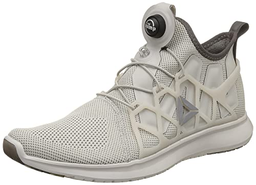 fd7022f837e Reebok Men s Pump Plus Cage Sandstone Grey Chalk Running Shoes - 8 ...