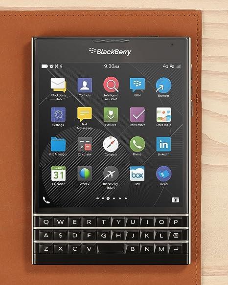 amazon com blackberry passport factory unlocked smartphone