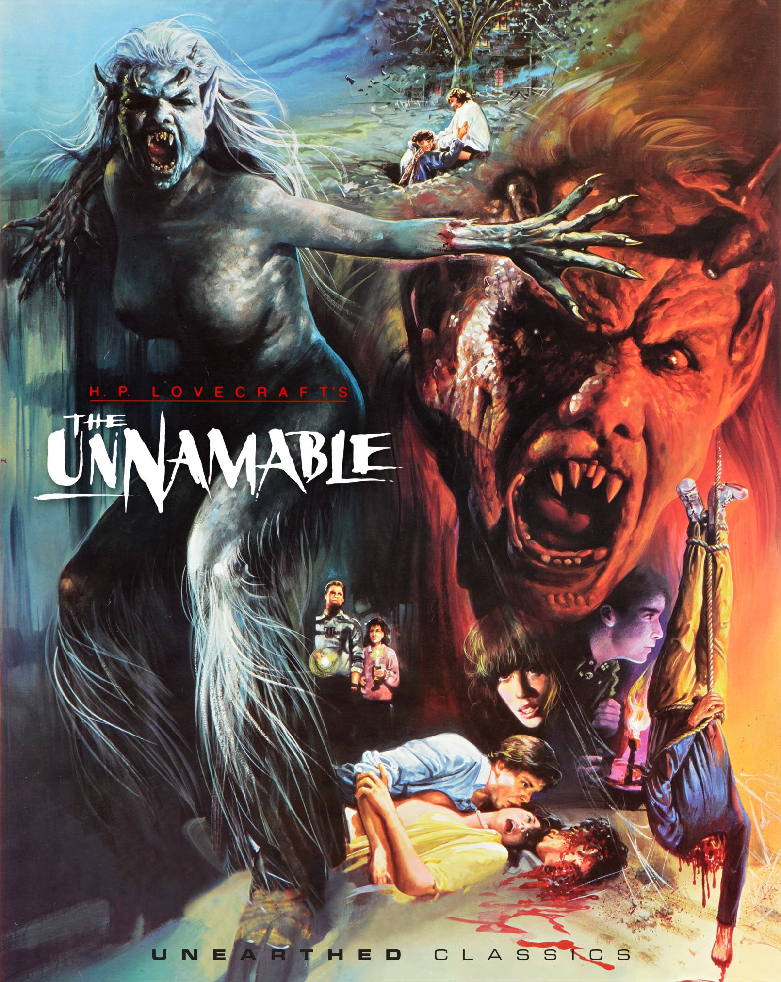 Blu-ray : Unnamable (Blu-ray)