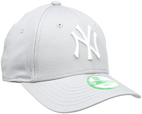 New Era Erwachsene Baseball Cap Mütze Kids M LB Basic 9Forty Adjustable,  Grey  a96c7dfdf0