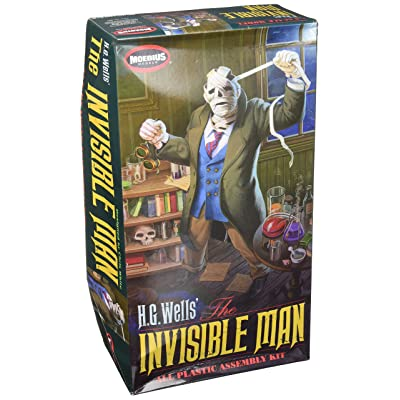 Moebius Models HG Wells Invisible Man Plastic Assembly Kit, 1/8 Scale: Toys & Games