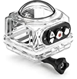 Kodak SP360 4K SP360 4K Waterproof housing Camcorder Case, Clear (ACC-Waterproof Housing-A-CL-US)