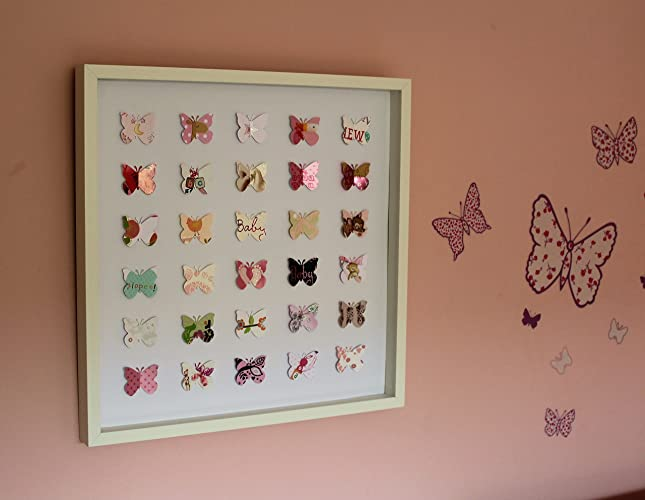 Large Butterfly 3D Personalised Picture From Your Greeting Cards