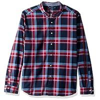 Nautica Men's Standard Long Sleeve Stretch Oxford Button Down Shirt