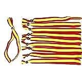 Pulsera de Bandera de España (Rosa), de Tela Ultra Resistente y Lavable, de tamaño XXL Ajustable Mediante Corte a Todos los tamaños.: Amazon.es: Deportes y aire libre