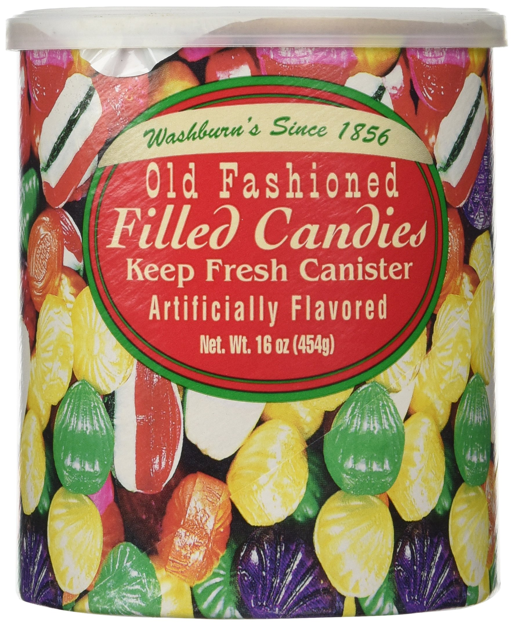 Amazon.com : Washburn\'s Old Fashioned Filled Candies 16 Oz. (2 Pack ...