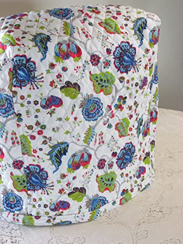 Amazon.com: KitchenAid Mixer Cover - Blue Red & Green Morocco Design on blue willow toaster, blue kitchen art, blue sleep aid, blue wedgewood, blue estate,