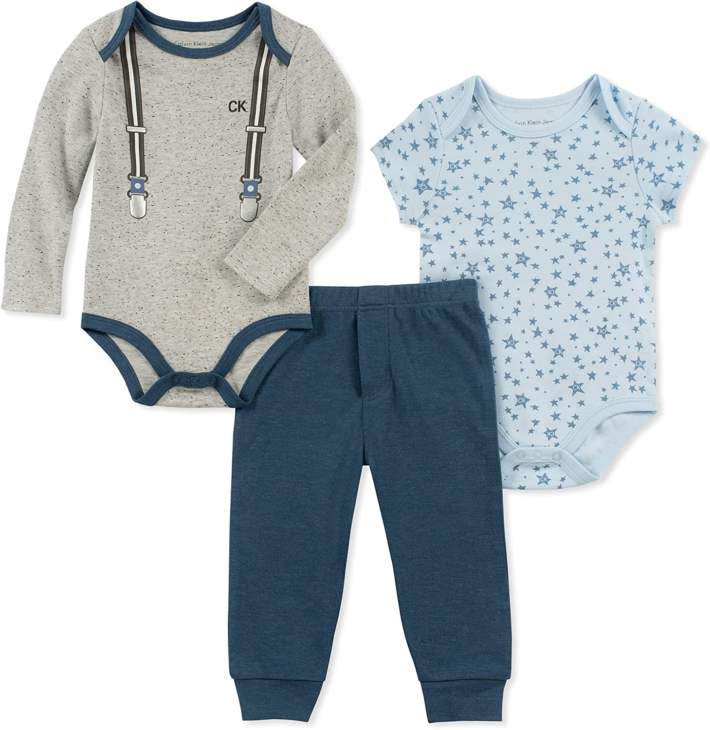 paquete de 4 6-9 Meses Azul//Gris Simple Joys by Carters pantal/ón para beb/é