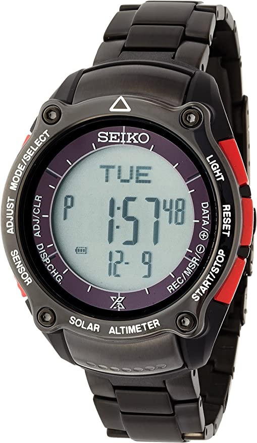 [セイコーウォッチ] 腕時計 プロスペックス MIURA DOLPHINS公認モデル 三浦ドルフィンズ アルピニスト ソーラー ハードレックス SBEB019