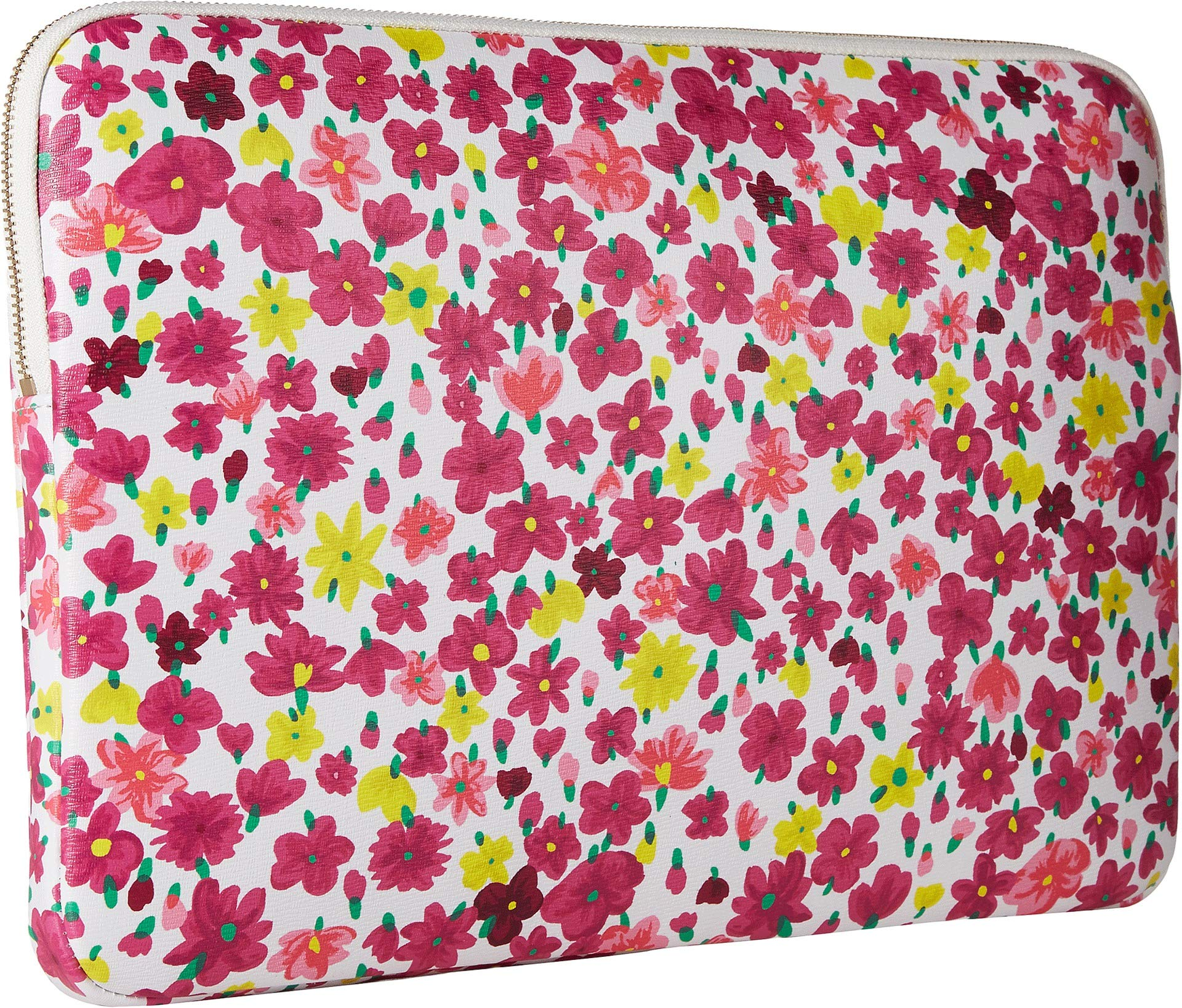 Kate Spade New York Women's Marker Floral Universal Laptop Sleeve Optic White Multi One Size by Kate Spade New York (Image #2)